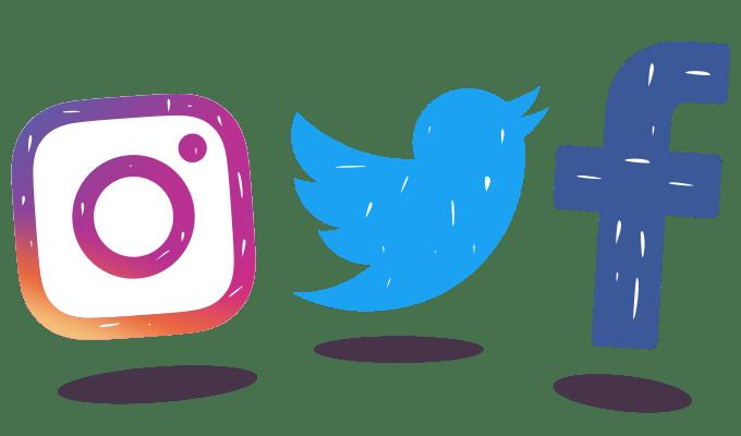 facebook twitter instagram logo png